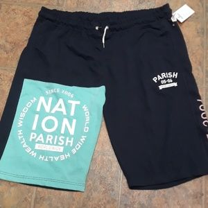Parish Nation Shorts - NWT Parish Nation shorts
